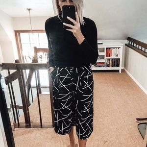 Pants - CMEO COLLECTIVE PATTERNED WIDE LEG SHORTS